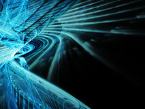 Синяя абстрактная предпосылка Стоковая Фотография RF