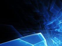 Синяя абстрактная предпосылка Стоковое фото RF