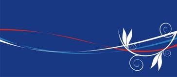 Синяя предпосылка Стоковые Изображения RF