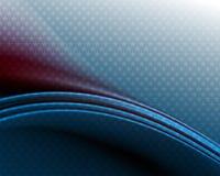 Синяя предпосылка с планом флага США Стоковая Фотография