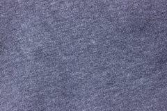 Синяя текстура предпосылки ткани Стоковая Фотография RF