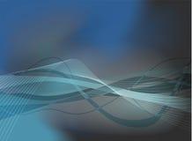 син волнистые иллюстрация вектора