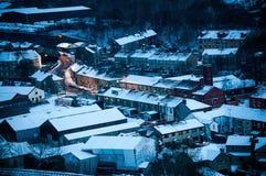 син зимы mossley Стоковое Изображение RF