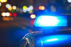Сирена полиции Стоковая Фотография