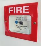 Пожарная сигнализация стоковая фотография
