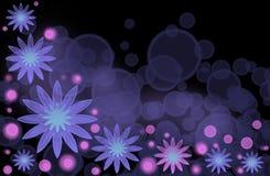 сирень цветков абстрактной предпосылки яркая Стоковые Фото