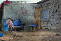 Сирийский беженец стоковые фотографии rf