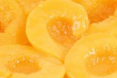 сироп персика половин светлый Стоковые Изображения