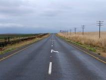 сиротливая дорога Стоковые Фотографии RF