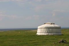 сиротливое yurt Стоковая Фотография