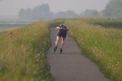 сиротливый конькобежец Стоковые Изображения