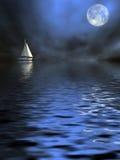 сиротливый корабль Стоковые Фото