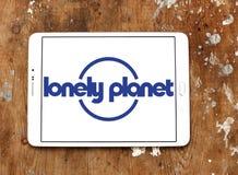 Сиротливый логотип планеты стоковые фото