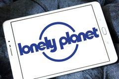 Сиротливый логотип планеты стоковые изображения rf