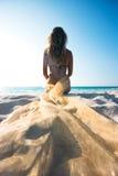 сиротливый mermaid Стоковые Фото