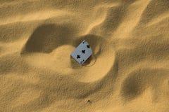 Сиротливая карточка Стоковые Изображения
