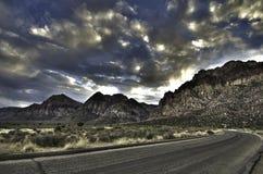 сиротливая дорога Стоковые Изображения RF