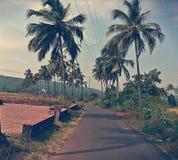 сиротливая дорога Стоковая Фотография RF