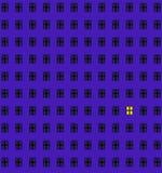 сиротливое окно Стоковые Изображения