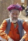 Сиротливое Sadhu Стоковые Фото