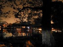 Сиротливый деревянный дом Стоковая Фотография