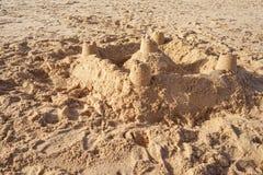 Сиротливый замок Стоковое фото RF