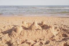 Сиротливый замок Стоковая Фотография