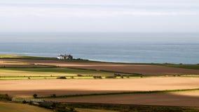 Сиротливый дом на побережье. Стоковое фото RF