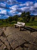 Сиротливый стенд в парке Исландии Стоковая Фотография RF
