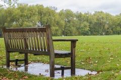 Сиротливый стенд в парке стоковая фотография rf