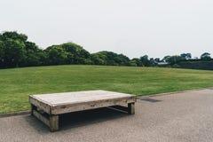 Сиротливый стенд в парке Стоковое Фото