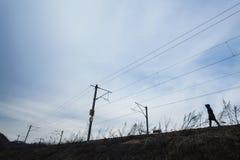 Сиротливый ходок Стоковая Фотография RF
