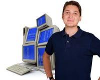 система администратора Стоковые Фотографии RF