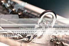 Система безопасности Стоковые Фотографии RF