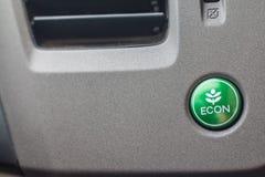 Система вентиляции автомобиля с кнопками severl и деталями современного Стоковое Изображение RF