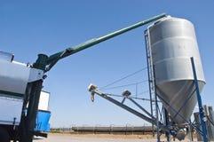 система ВПТ зерна фермы детали стоковые фото
