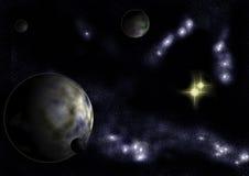 система звезды алтара Стоковое Изображение RF