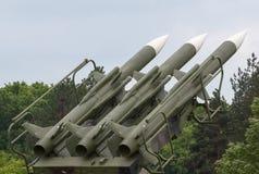 Система зенитных ракет Стоковые Изображения