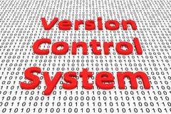 Система контроля за версией Стоковая Фотография