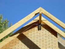 Система крыши ферменной конструкции Стоковая Фотография