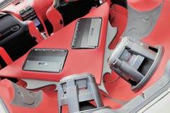 система нот автомобиля Стоковые Изображения RF