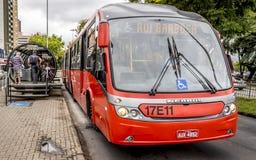 Система общественного местного транспорта Curitiba Стоковые Изображения RF
