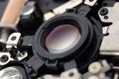 система объектива стоковое изображение rf