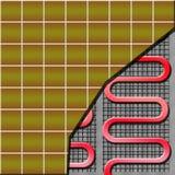 система отопления пола Стоковые Изображения RF
