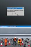 система ошибки стоковое фото rf