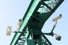 Система показателя видео камеры слежения Стоковая Фотография RF