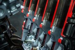 Система поршеня в моторе Стоковое фото RF