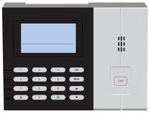 Система поддержки для контролировать время работника Стоковое фото RF