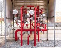 Система предохранения огня стоковая фотография rf