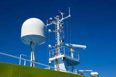система радиолокатора круиза Стоковое Фото